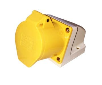 110v 16 amp SURFACE MOUNTED SOCKET  IP44 WATERPROOF MOUNTABLE SOCKET